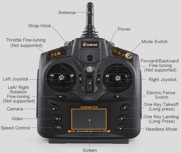 Eachine EX1 transmitter