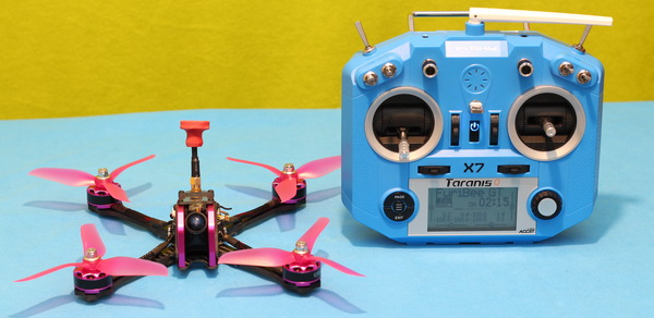 FuriBee GT 215MM drone review: Binding instructions