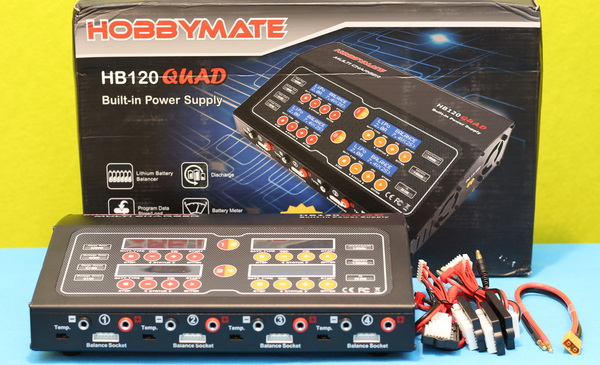 HobbyMate HB120QUAD review: Box content