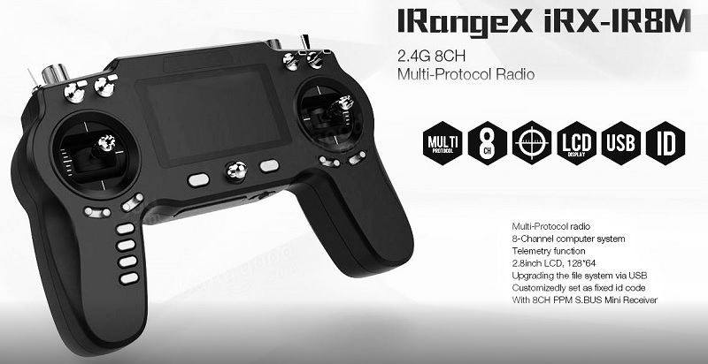 Irangex Irx Ir8m Transmitter One Rc For All Your Drones