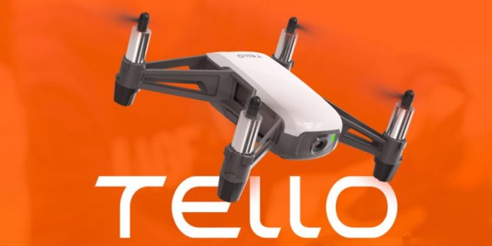DJI Tello mini drone with 5MP camera