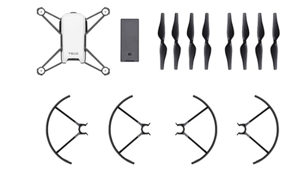 DJI Tello included accesories