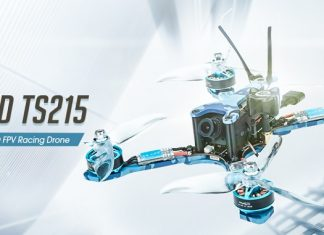 Eachine Wizard TS215 racing quadcopter