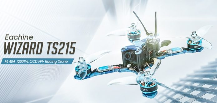 Eachine Wizard TS215 racing quadcopter