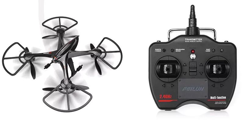 FEILUN FX137: Big bird for beginner drone pilots | First Quadcopter
