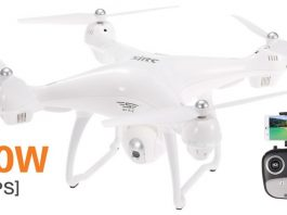 SJ R/C S70W GPS drone with HD camera