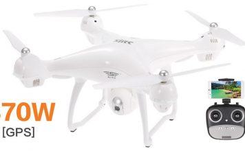 SJ R/C S70W GPS drone with HD camera