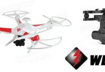 WLtoys Q363-H cheap GPS drone with camera