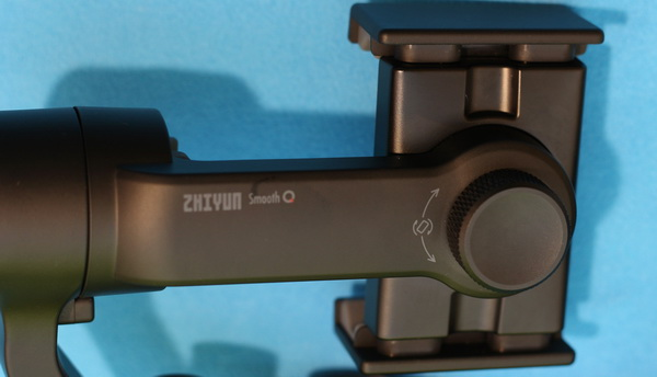 Zhiyun Smooth Q gimbal review: Device orientation