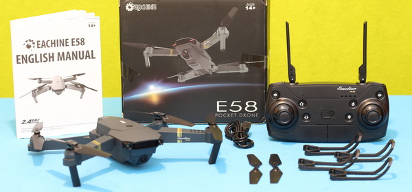 Best quadcopter reviews 2017: Eachine E58