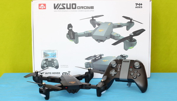 Best quadcopter reviews 2017: VISUO XS809HW