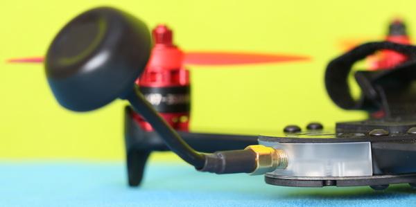 LitisRC Cicada 180 review: FPV antenna