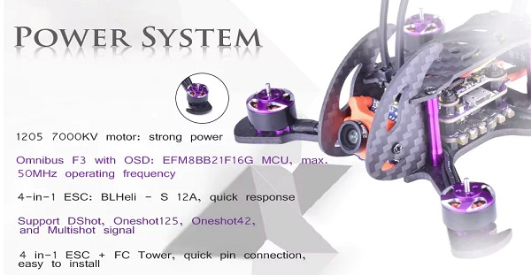 EVERWING CYCLONE 110 propulsion system