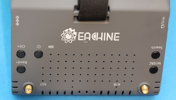 Eachine EV900 Goggles Review: Control buttons