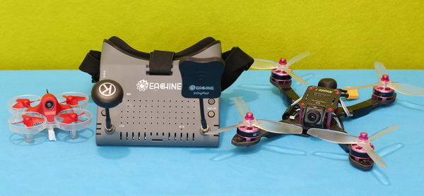Eachine EV900 Goggles Review: Range test