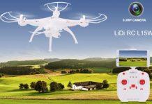LiDi RC L15W quadcopter