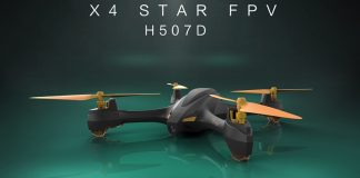 Hubsan H507D X4 STAR done quadcopter