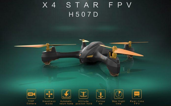 Hubsan H507D X4 STAR done quadcopter