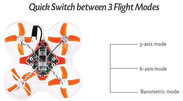 MIRAROBOT S85 flight modes