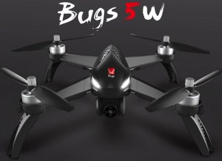 MJX Bugs 5W GPS drone quadcopter