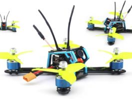 Rcharlance Space Gear FPV racing quadcopter