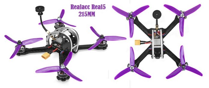Realacc Real5 FPV 250mm Racing drone