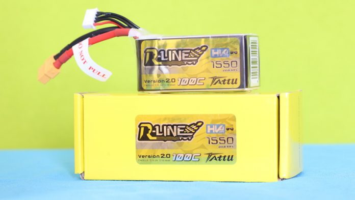Tattu R-Line HV 1550mAh 100C battery review