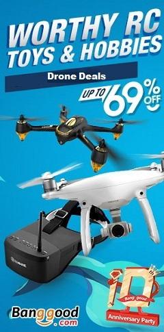 April drone deals