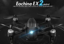 Eachine EX2mini brushless FPV drone