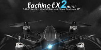 Eachine EX2mini brushless FPV drone