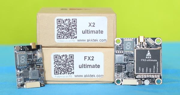 AKK X2 & FX2 Ultimate VTX review: Verdict