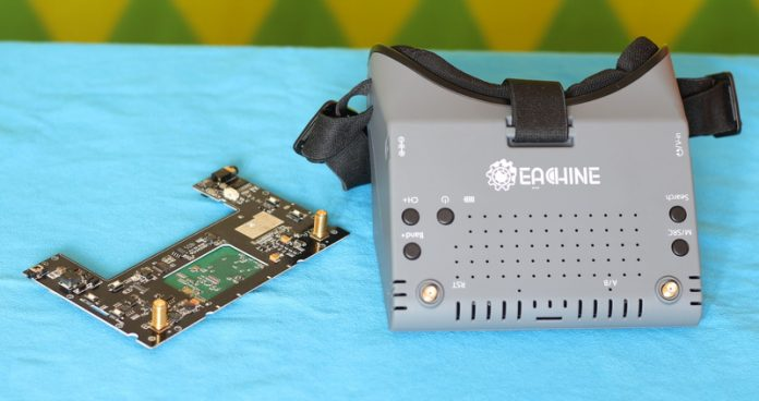 FPV Goggles repair: Eachine EV900 motherboard replace