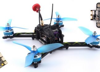 Rcharlance Tiercel 215mm FPV drone
