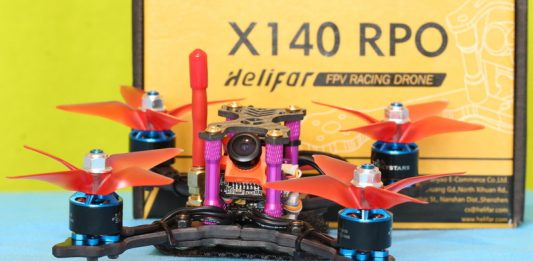 Best mini FPV drone: Helifar X140 PRO review