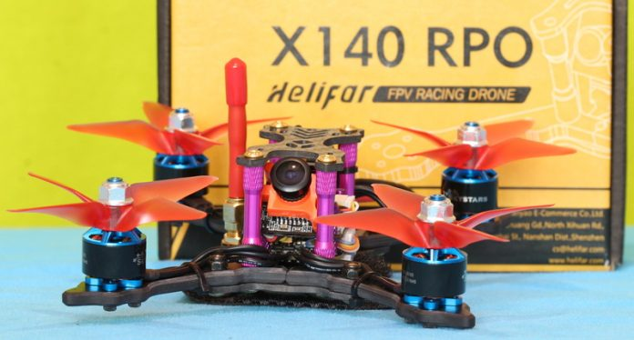 Best mini FPV drone: Helifar X140 PRO review