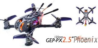 GEPRC GEP-PX2.5 Phoenix FPV drone quadcopter