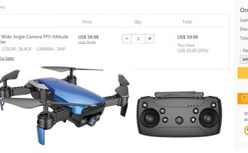 Goolrc X12 drone coupon deal