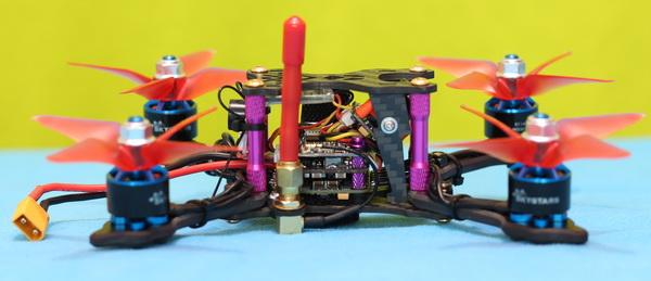 Helifar X140 PRO mini FPV drone review: Design