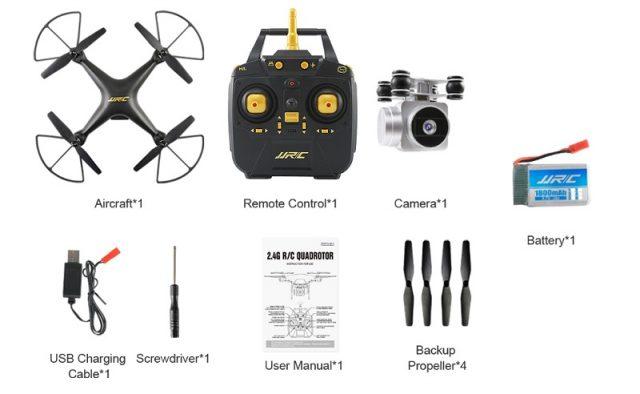 JJRC H68 accessories
