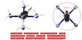 LDARC KingKong 5GT FPV racing drone