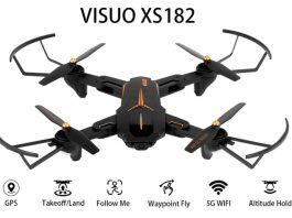 VISUO XS812 drone