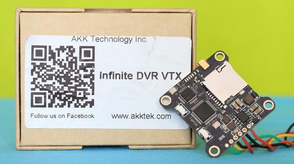 AKK Infinite DVR VTX review: Intro