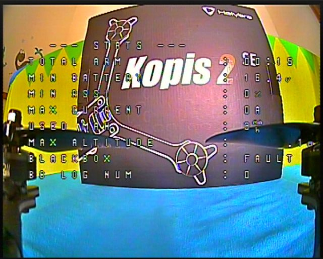 HolyBro Kopis 2 SE review: OSD