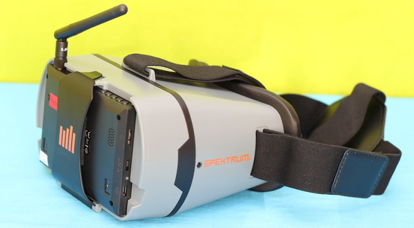 Blade Inductrix FPV+ review: FPV Headset