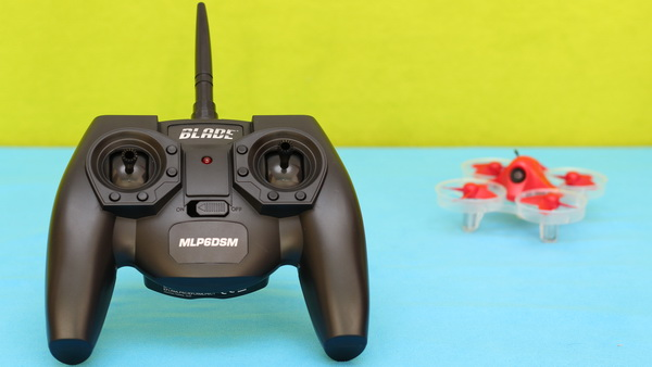 Blade Inductrix FPV+ review: Transmitter