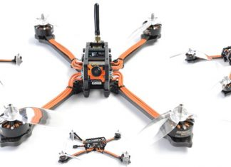 Diatone 2018 GT-M630 FPV racing quadcopter