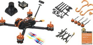 Eachine Tyro 99 DIY FPV racing drone