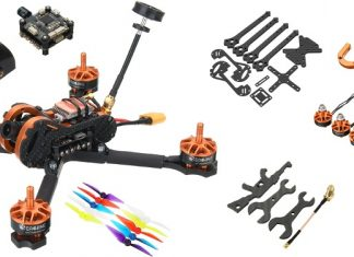 Eachine Tyro 99 DIY FPV racing drone