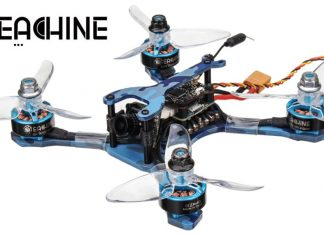 Eachine Wizard TS130 FPV racing Drone
