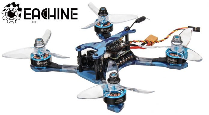Eachine Wizard TS130 FPV racing Drone